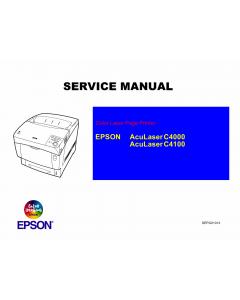 EPSON AcuLaser C4100 C4000 Service Manual