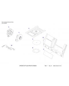 EPSON StylusPhoto R2000 Parts Manual