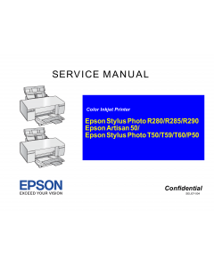 EPSON StylusPhoto T50 T59 T60 P50 Service Manual