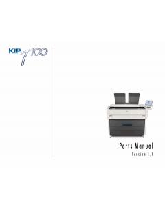 KIP 7100 Parts Manual