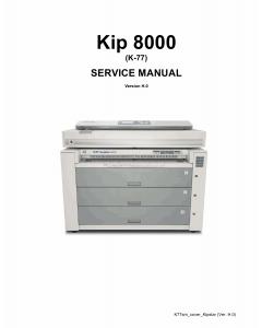 KIP 8000 K-77 Service Manual