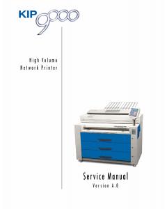 KIP 9000 Service Manual