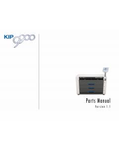 KIP 9900 K-115  Parts Manual