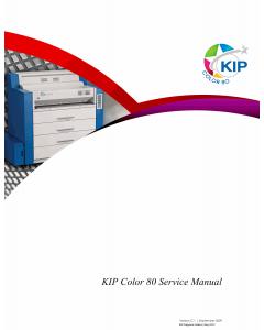 KIP Color 80 Service Manual
