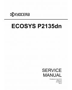 KYOCERA LaserPrinter ECOSYS-P2135dn Service Manual