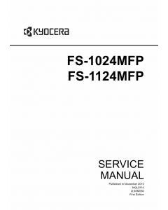 KYOCERA MFP FS-1024MFP 1124MFP Service Manual