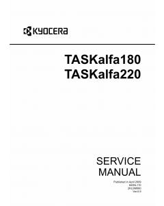 KYOCERA MFP TASKalfa-180 220 Service Manual