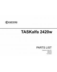 KYOCERA WideFormat TASKalfa-2420w Parts Manual