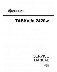 KYOCERA WideFormat TASKalfa-2420w Service Manual