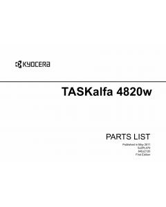 KYOCERA WideFormat TASKalfa-4820w Parts Manual