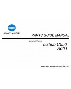 Konica-Minolta Bizhub C550 Parts Manual