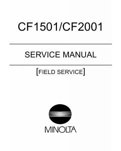 Konica-Minolta MINOLTA CF1501 CF2001 FIELD-SERVICE Service Manual