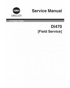Konica-Minolta MINOLTA Di470 FIELD-SERVICE Service Manual