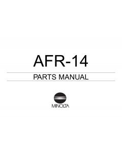 Konica-Minolta Options AFR-14 Parts Manual