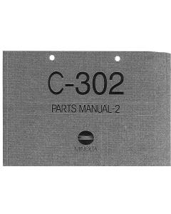 Konica-Minolta Options C-302 Parts Manual