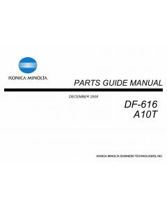 Konica-Minolta Options DF-616 A10T Parts Manual