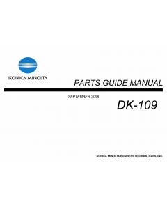 Konica-Minolta Options DK-109 Parts Manual