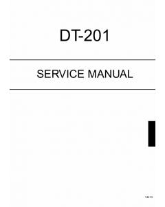 Konica-Minolta Options DT-201 Service Manual