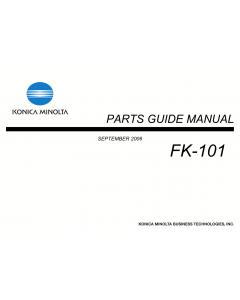 Konica-Minolta Options FK-101 Parts Manual