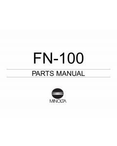 Konica-Minolta Options FN-100 Parts Manual