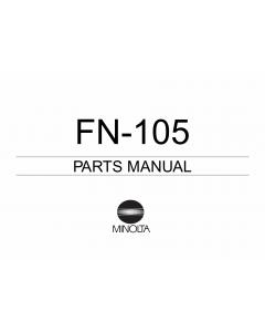 Konica-Minolta Options FN-105 Parts Manual
