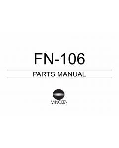 Konica-Minolta Options FN-106 Parts Manual