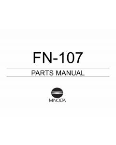 Konica-Minolta Options FN-107 Parts Manual