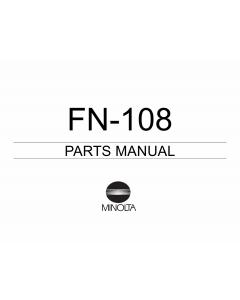 Konica-Minolta Options FN-108 Parts Manual
