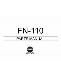 Konica-Minolta Options FN-110 Parts Manual