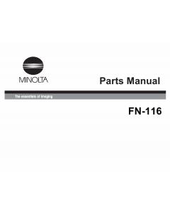 Konica-Minolta Options FN-116 Parts Manual