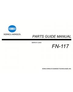 Konica-Minolta Options FN-117 Parts Manual