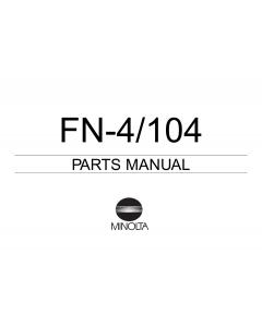 Konica-Minolta Options FN-4 104 Parts Manual