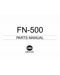 Konica-Minolta Options FN-500 Parts Manual
