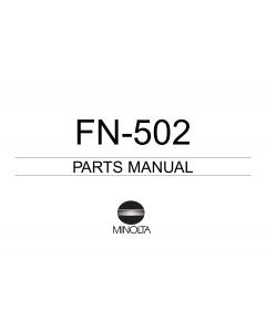 Konica-Minolta Options FN-502 Parts Manual