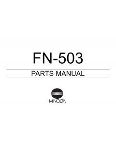 Konica-Minolta Options FN-503 Parts Manual