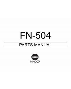 Konica-Minolta Options FN-504 Parts Manual