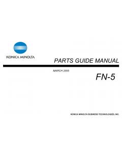Konica-Minolta Options FN-5 Parts Manual