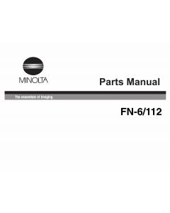 Konica-Minolta Options FN-6 Parts Manual