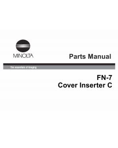 Konica-Minolta Options FN-7 Parts Manual