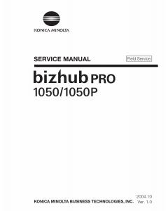Konica-Minolta bizhub-PRO 1050 1050P FIELD-SERVICE Service Manual