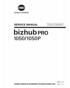Konica-Minolta bizhub-PRO 1050 1050P THEORY-OPERATION Service Manual