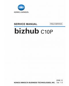 Konica-Minolta bizhub C10P FIELD-SERVICE Service Manual