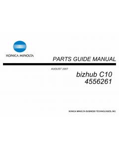 Konica-Minolta bizhub C10 Parts Manual