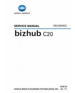 Konica-Minolta bizhub C20 FIELD-SERVICE Service Manual