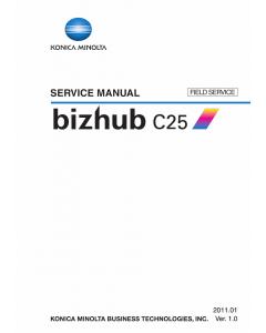 Konica-Minolta bizhub C25 FIELD-SERVICE Service Manual