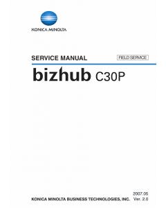 Konica-Minolta bizhub C30P FIELD-SERVICE Service Manual