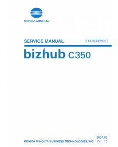 Konica-Minolta bizhub C350 FIELD-SERVICE Service Manual