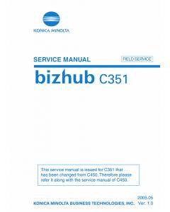 Konica-Minolta bizhub C351 FIELD-SERVICE Service Manual