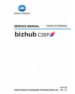 Konica-Minolta bizhub C35P THEORY-OPERATION Service Manual