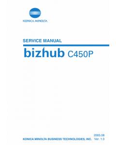 Konica-Minolta bizhub C450P Service Manual